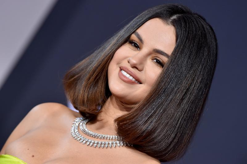 Selena Gomez said she was caught short on the way to an Ed Sheeran gig. (Getty Images)
