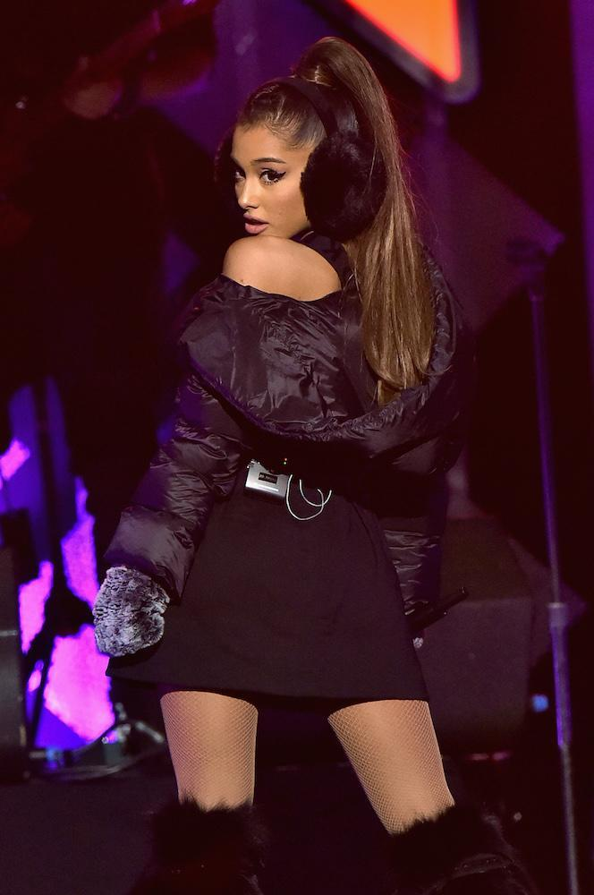We've seen quite a few different hair looks from singer Ariana Grande through the years, but her ponytail is one in a million.