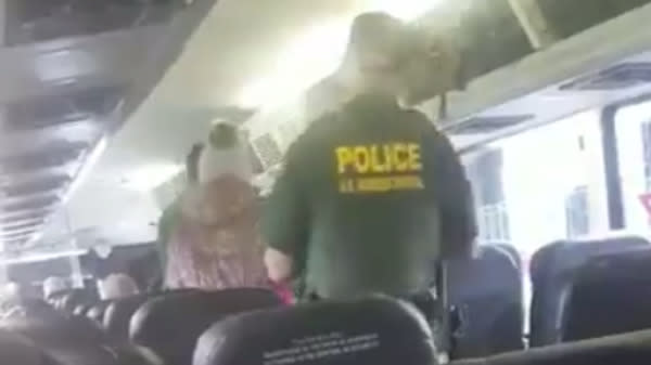 Immigration Authorities Detain Woman On A Greyhound Bus After Asking Everyone For ID