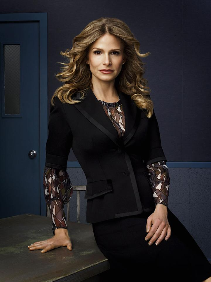 """2007 Emmy Awards: <a href=""""/kyra-sedgwick/contributor/32709"""">Kyra Sedgwick</a> nominated for Lead Actress (Drama) for her role as Brenda Johnson in <a href=""""/closer/show/37334"""">The Closer</a>."""