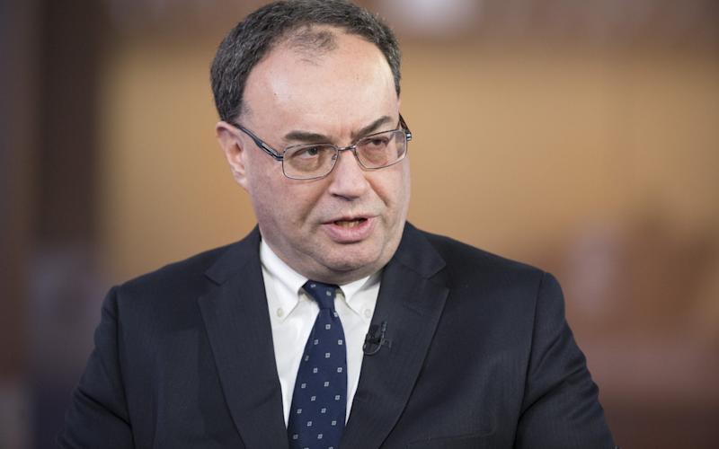 Andrew Bailey told MPs the FCA was engaging with Libra - Bloomberg