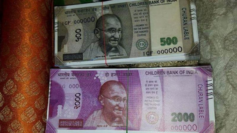 Delhi ATM Dispenses Another 'Children Bank of India' Rs 2,000 Note