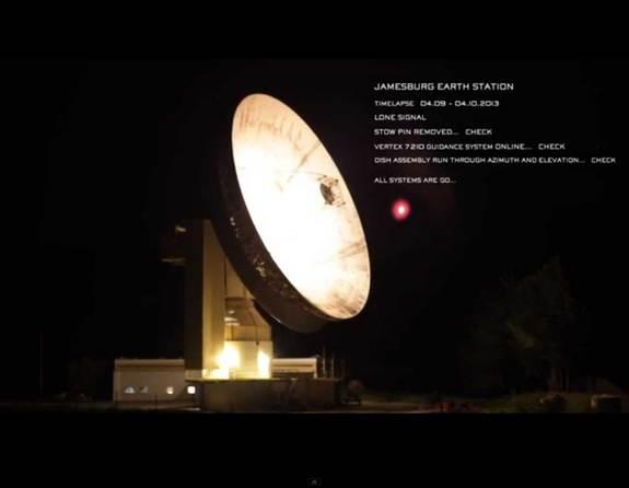 The Jamesburg Earth Station will be responsible for transmitting the messages contributed to the Lone Signal project.