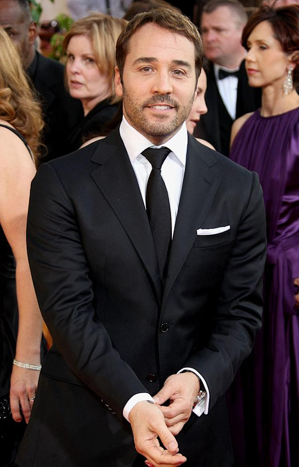 """Jeremy Piven was all smiles at last Sunday's Golden Globe Awards, but the producers of the Broadway play he exited early due to mercury poisoning were not happy. They filed a formal grievance against the actor on Friday ... claims Jeremy's rep called """"absurd and outrageous."""" <a href=""""http://www.gettyimages.com/"""" target=""""new"""">GettyImages.com</a> - January 11, 2009"""
