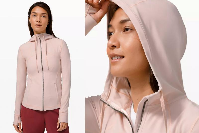 The Lululemon Hooded Define Jacket is just one of the many new additions to Lululemon's We Made Too Much page.