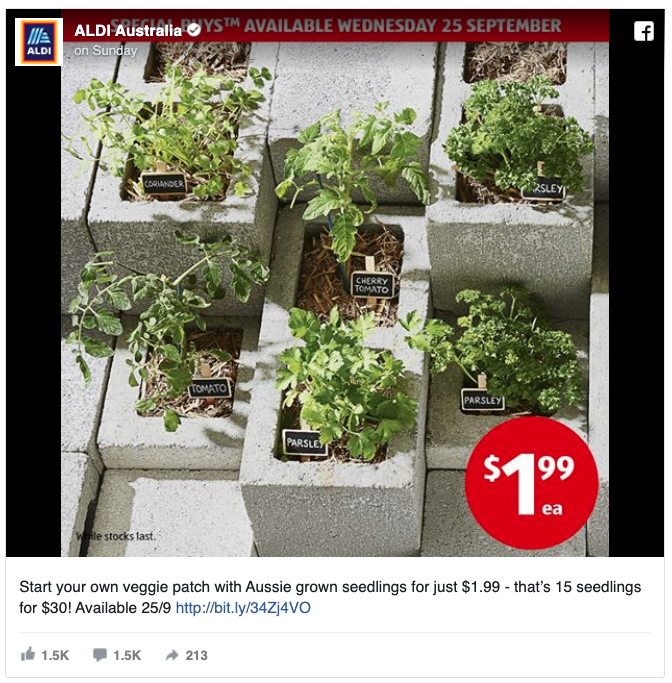 Source: Aldi via Facebook