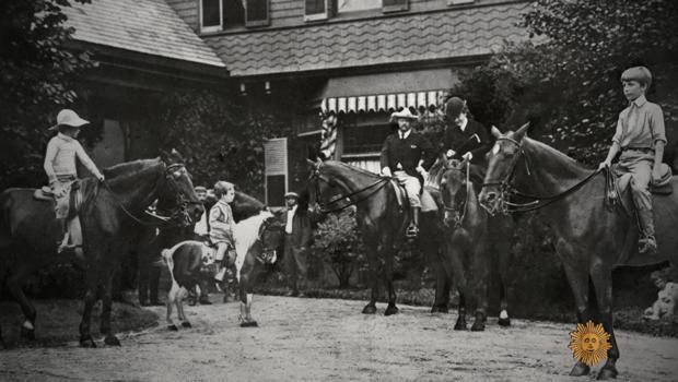 President Teddy Roosevelt's six children grew up with no fewer than 40 animals, from dogs, ponies and guinea pigs to a one-legged rooster. / Credit: CBS News