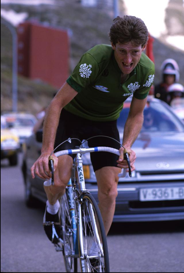 At the 1986 Vuelta a España – which back then started a little over a week after the finish of Paris-Roubaix – Sean Kelly finished third overall and took the third of what would eventually be four green points jerseys during his career