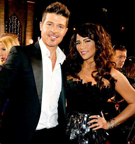 "Robin Thicke: I Don't Know If I'd ""Still Be Alive"" Without Wife Paula Patton"