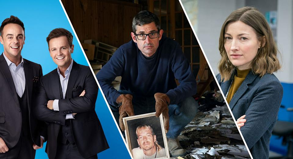 Ant & Dec, Louis Theroux and Line of Duty are among our Easter weekend TV tips (ITV/BBC)