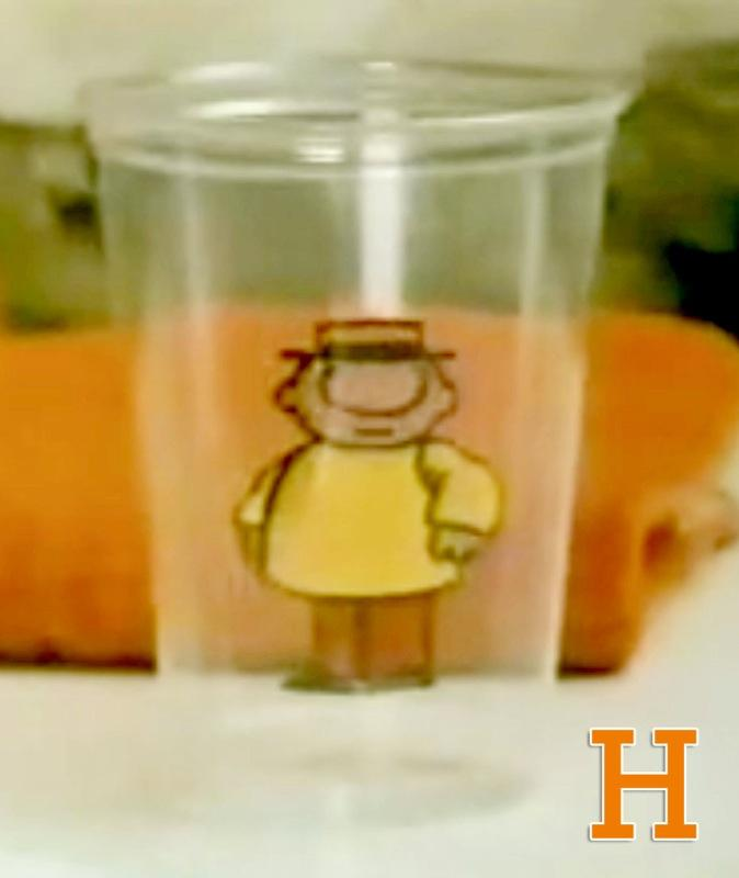 "H is for Hero -- Teeny Little Super Guy, to be precise: Funny, sarcastic, raspy-voiced wisdom spews from the Teeny Little Super Guy, a local cup dweller (he's actually drawn on what looks to be a plastic cup) with a catchy theme song and fleet-footed dance steps. <a href=""http://www.zap2it.com/"" rel=""nofollow"">Source: Zap2it</a>"