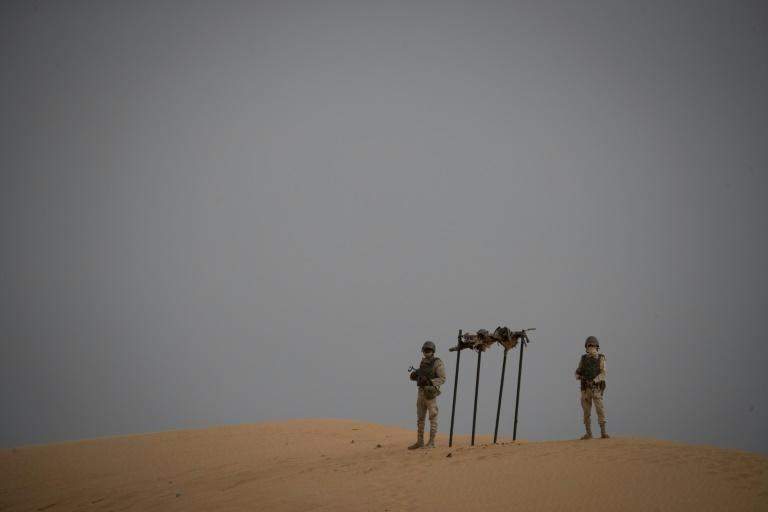 Mauritanian soldiers are one of the forces involved in the G5 Sahel mission across the region