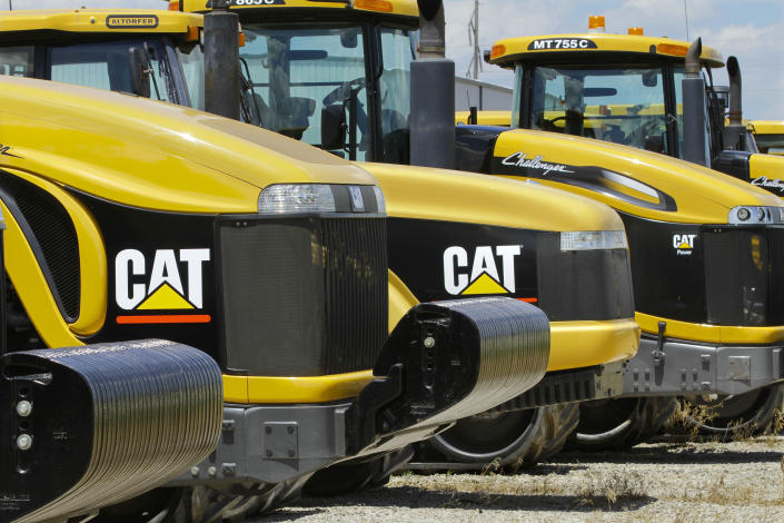 Caterpillar is one of the biggest companies in Illinois. (Photo: AP Photo/Seth Perlman, File)