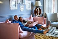<p>Otherwise known as Netflix and chill. Hey, it's popular for a reason.</p>