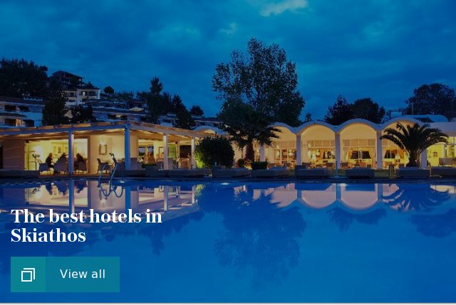 The best hotels in Skiathos