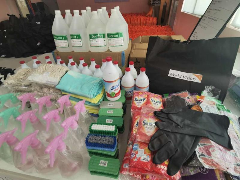 Relief goods from World Vision. Photo: World Vision