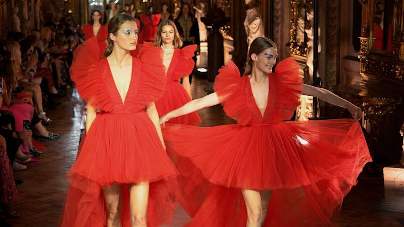 We *Finally* Got a Look at the Full H&M x Giambattista Valli Runway Collection, and It's Worth the Wait