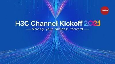 """H3C Channel Kickoff 2021 Pakistan event was launched on February 4. The virtual event encourages global partners to """"Move their business forward"""" by embracing new challenges and seizing opportunities alike, to jointly create more business value with H3C in the new year and beyond."""
