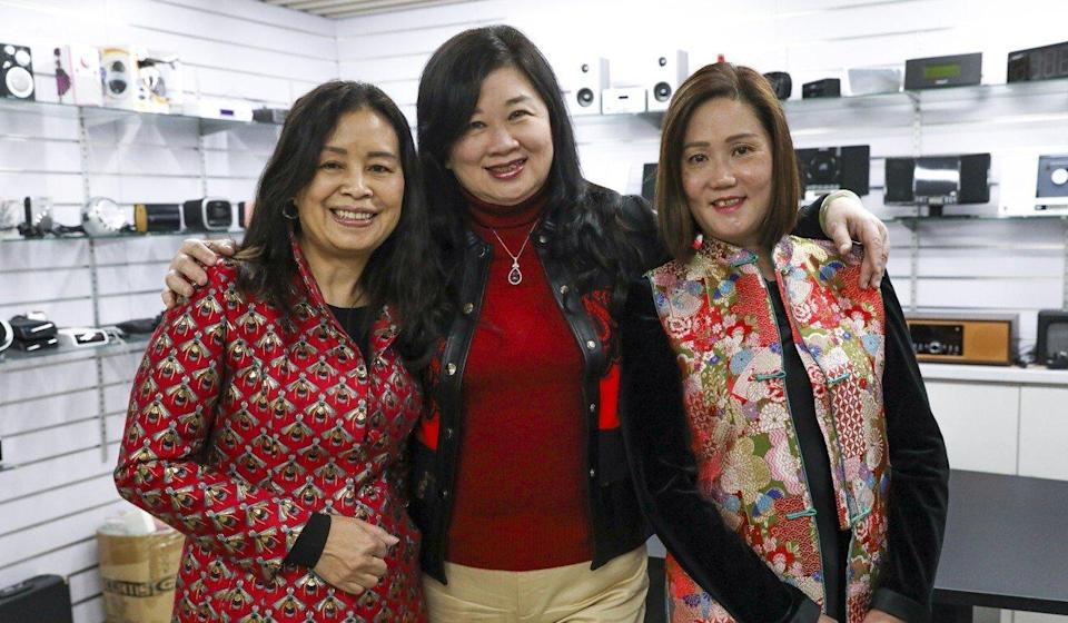 Lions Club of Kau To Shan president Eva Leung (left) and her friends used to take an annual trip to Macau for Lunar New Year, but are organising a charity event this year instead. Photo: May Tse