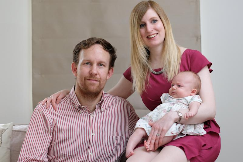 Eleanor Rowe was born with two vaginas, wombs and cervixes, but has defied the odds to become a mother [Photo: Tom Maddick/SWNS]