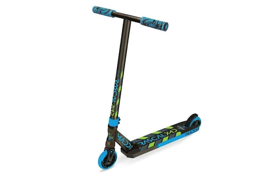 Madd Gear Kick Rascal Stunt Scooter. Picture: target
