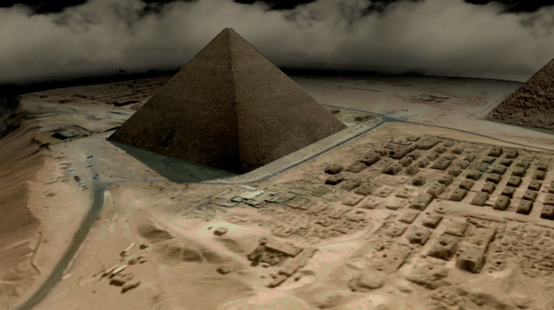 <strong>Experts have admitted they don't know what the giant void in the Great Pyramid of Giza is for</strong> (Scan Pyramids Mission)