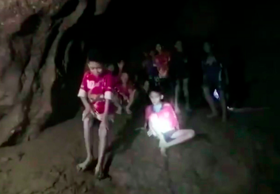 The boys were found by British rescue divers. (Photo: PA)