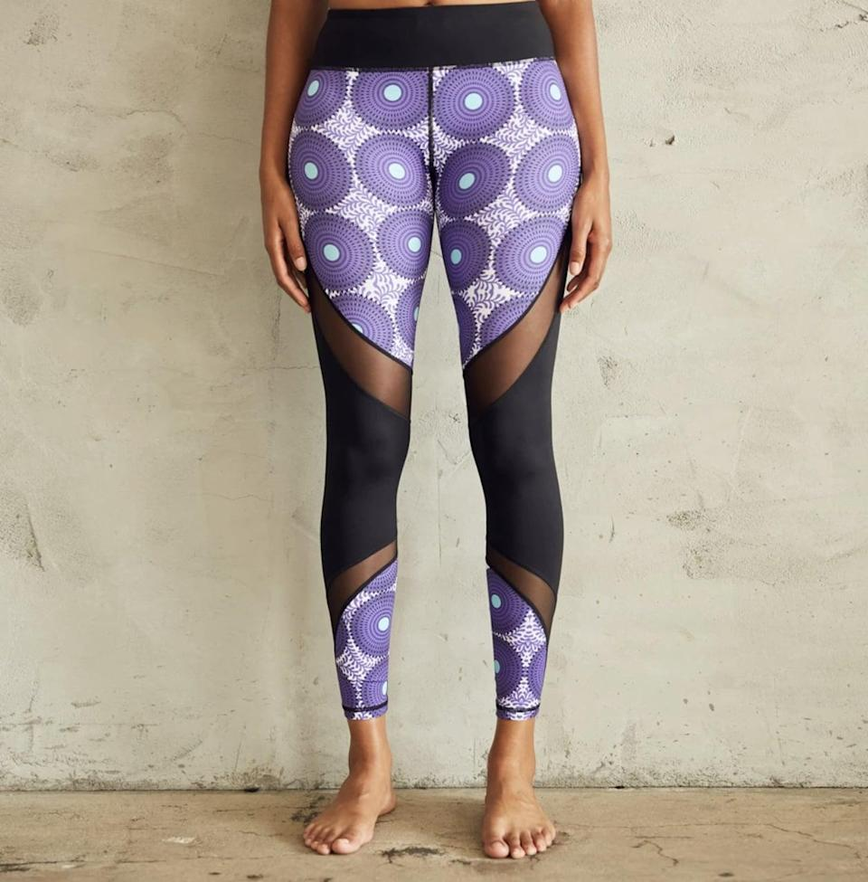 <p>Again, you can never have too many pairs of leggings when it comes to Pilates. The <span>CultureFit ZigZag Leggings</span> ($55) are fashionable and functional, with a wide, supportive waistband and moisture-wicking fabric. </p>