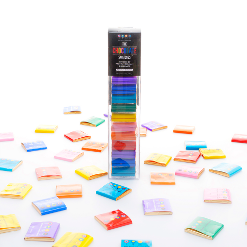 """<h2>Dylan's Candy Bar Chocolate Swatch Stack</h2><br><strong>Best For: Long-Distance Partner<br>Budget: $25</strong><br>For another sweet surprise that's sure to brighten their day, have a stack of 30 squares of premium Belgian chocolate in color-coded assorted flavors sent straight to their doorstep. Yum. <br><br>S<em>hop <a href=""""https://www.dylanscandybar.com/collections/gifts"""" rel=""""nofollow noopener"""" target=""""_blank"""" data-ylk=""""slk:Dylan's Candy Bar"""" class=""""link rapid-noclick-resp""""><strong>Dylan's Candy Bar</strong></a> </em><br><br><strong>Dylan's Candy Bar</strong> Chocolate Swatch Stack, $, available at <a href=""""https://go.skimresources.com/?id=30283X879131&url=https%3A%2F%2Fwww.dylanscandybar.com%2Fcollections%2Fbest-sellers%2Fproducts%2Fdylans-candy-bar-signature-chocolate-swatches-8235"""" rel=""""nofollow noopener"""" target=""""_blank"""" data-ylk=""""slk:Dylan's Candy Bar"""" class=""""link rapid-noclick-resp"""">Dylan's Candy Bar</a>"""