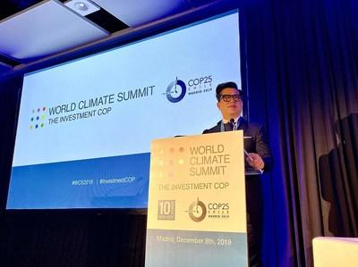 Looking beyond the current take-make-waste extractive industrial model, a circular economy aims to redefine growth, focusing on positive society-wide benefits. O'right's Founder & Chairman, Steven Ko shares the power of entrepreneurship, innovation, and collaboration at World Climate Summit of COP25.