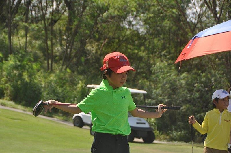 On the Tee: Chan Ahn 6-year-old Korean-Cebuano gets a hole-in-one