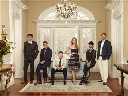 """Handout of the cast of """"Southern Charm"""", a new national reality television show on Bravo channel, in Charleston"""