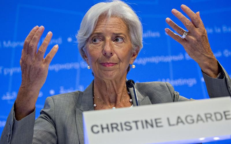 The head of the International Monetary Fund said that settling Brexit ought to be a matter of 'people first and business second' - Bloomberg