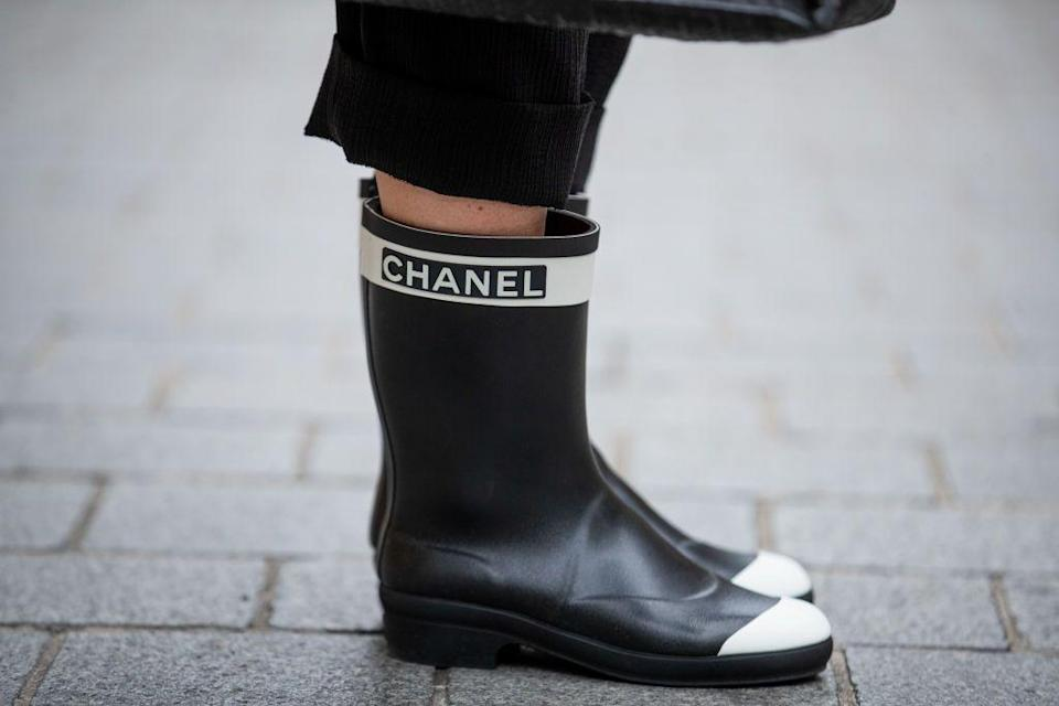 <p>Once upon a time, you may have reserved Wellington boots for countryside walks and your annual jaunt to a muddy festival, but not anymore. The fashion wellie has well and truly come into its own this season with top designers everywhere embracing the waterproof boot.</p><p>From Chanel and Bottega to Prada and Chloé, there are so many options for upgrading your traditional rain boot this winter – and there could be nothing chicer or more practical to wear on your daily lockdown walks.<br></p><p>Here, we round up the most stylish Wellington boots available to shop right now, with each style guaranteed to keep you as dry as they will stylish.</p>