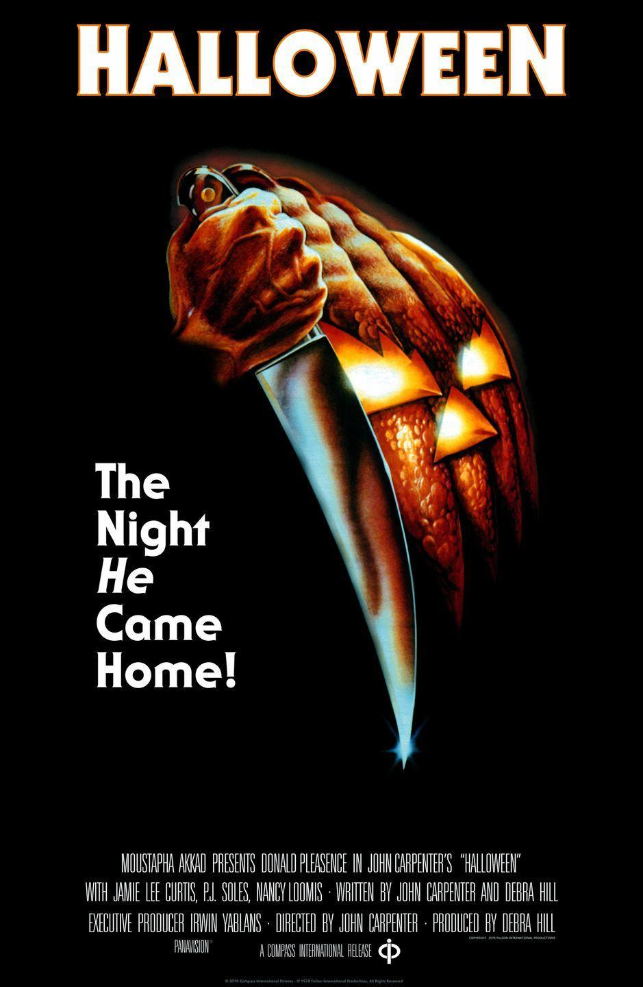 "<p>An undeniable classic that pairs a constantly running and screaming Jamie Lee Curtis with a lurking creeper named Michael Myers. This movie set off the whole ""Want to make something scary? Put a guy in a mask"" trend. </p>"