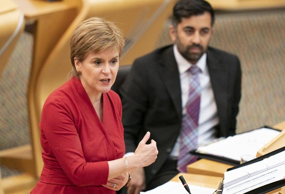 The First Minister will lay out the first legislative programme since the deal with the Greens on Tuesday (Jane Barlow/PA) (PA Wire)