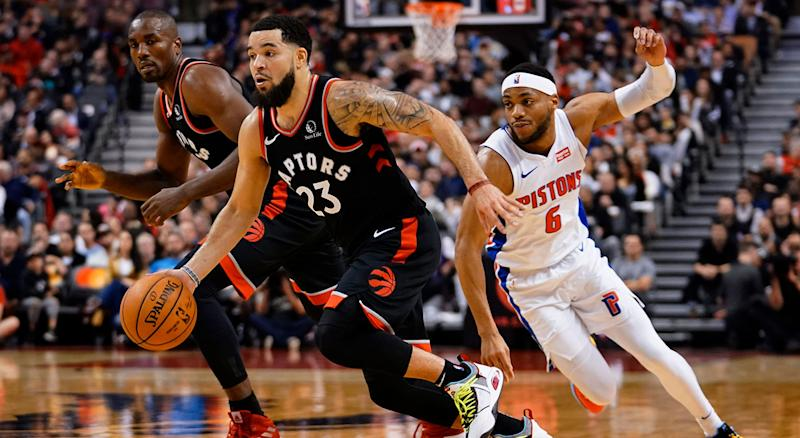 The Pistons are interested in Fred VanVleet, but so are the Raptors. (Reuters)