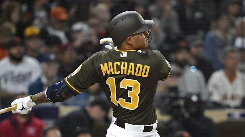 info for abaa2 cbd61 Manny Machado gets first two hits with Padres