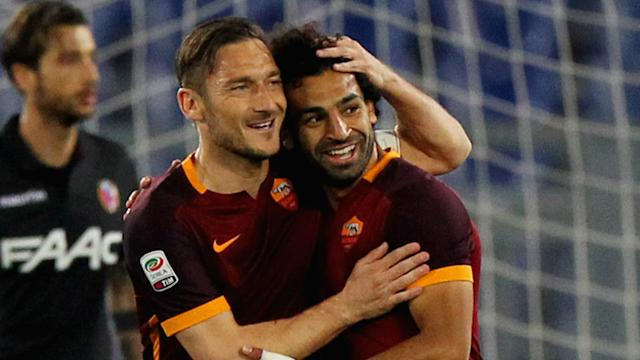 Francesco Totti has been impressed by Jurgen Klopp's ability to extract the very best from ex-Roma player Mohamed Salah.