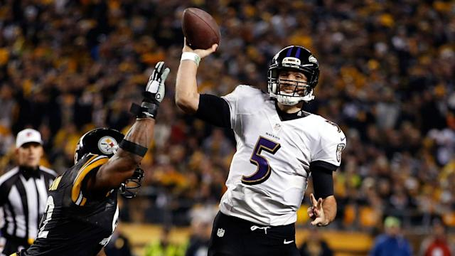The Ravens become international travelers this season, but their chances for a postseason return will again revolve around a familiar rival.