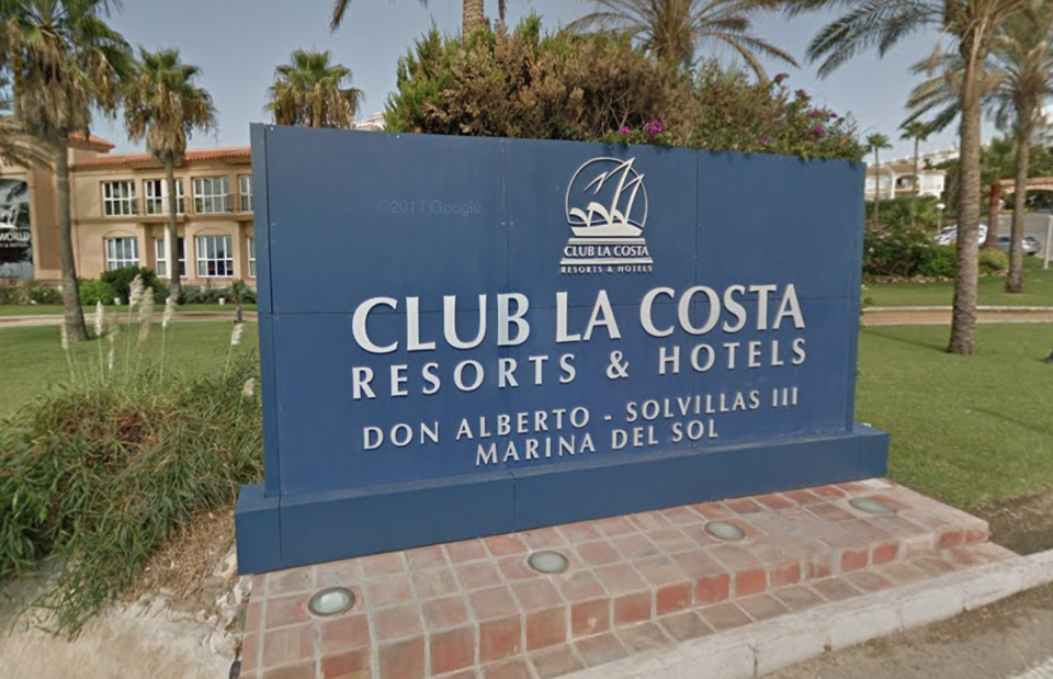 The family were staying at the Club La Costa World resort in Fuengirola, Spain. (Google)