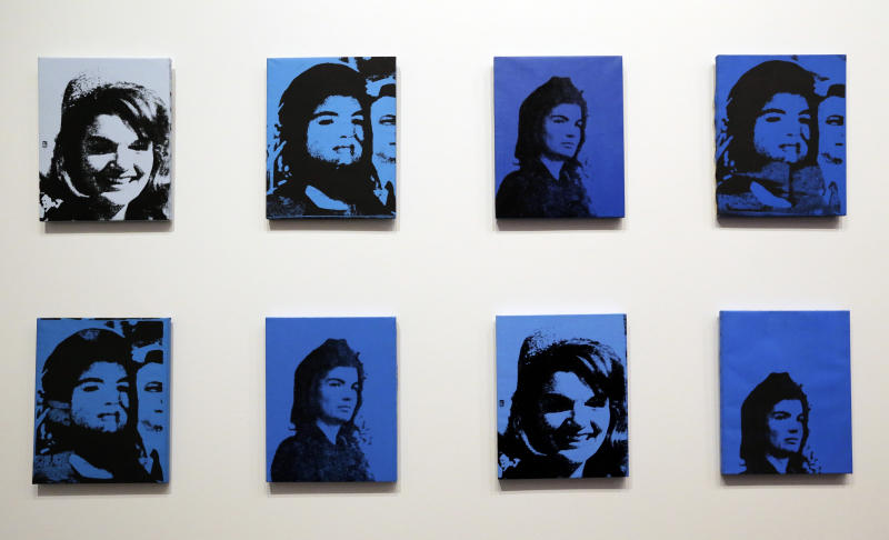Andy Warhol on exhibit at The Dali Museum