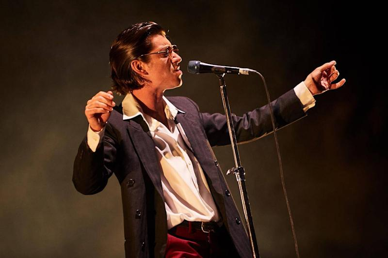 Alex Turner performs during Arctic Monkeys' set at Mad Cool festival (Mad Cool festival)