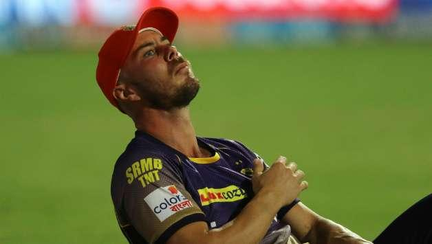 Chris Lynn injured his left shoulder once again while fielding during KKR's match against MI.