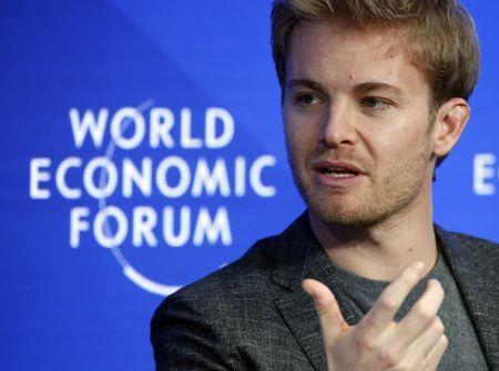 FILE PHOTO: Former Formula One driver Nico Rosberg of Germany attends the World Economic Forum (WEF) annual meeting in Davos, Switzerland January 20, 2017. REUTERS/Ruben Sprich