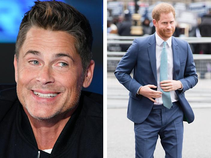 Prince Harry Rob Lowe