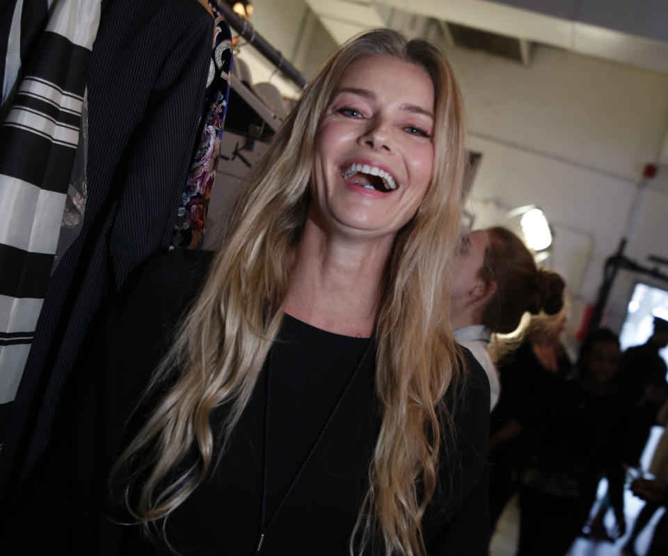 "Paulina Porizkova says mature women are ""reviled"" for showing off their bodies. (Photo: John Lamparski/Getty Images for NYFW: The Shows)"