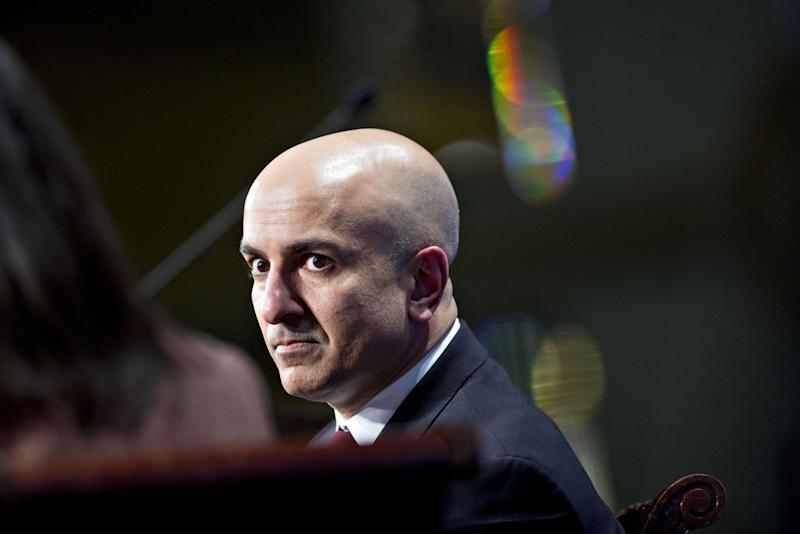 """(Bloomberg) -- The drumbeat for a Federal Reserve interest rate cut is getting louder, with one policy maker calling for a 50 basis point reduction.Minneapolis Fed President Neel Kashkari said Friday that he'd advocated for such a move at the central bank's June 18-19 meeting, where officials ended leaving rates unchanged.Other policy makers speaking on Friday didn't go as far as Kashkari, considered one of the Fed's more dovish officials. But their comments reinforced expectations that the Fed is on course to reduce rates, perhaps as soon as its July 30-31 gathering. President Donald Trump, who's sharply criticized Fed Chairman Jerome Powell for keeping credit too tight, said Thursday that he expects the central bank to lower rates. """"Can't win it all. Eventually he'll do what's right,"""" the president said of Powell.Powell deputy Richard Clarida said on Friday that the argument for easier policy has strengthened recently as the economic outlook has turned more uncertain.""""The case for providing accommodation has increased,"""" Fed Vice Chair Clarida said in a Bloomberg Television interview. """"There's been a marking down in global growth prospects. There's been uncertainty about international trade.""""Trump is slated to meet Chinese President Xi Jinping at the June 28-29 summit of Group of 20 nations in Osaka, Japan, to try to head off a further escalation in the trade war between the world's two biggest economies. The president also has threatened to impose tariffs on auto imports from Japan and the European Union. 'Downside Risks'Adding to the uncertainty are heightened tensions in the Middle East after Iran shot down a U.S. drone and Trump tweeted he came within minutes of launching a retaliatory attack. On Saturday Trump said that military action is """"always on the table."""" Fed Governor Lael Brainard also sounds open to a rate cut, even as she describes the U.S. economic outlook as solid.Recent weeks """"have seen important downside risks,"""" Brainard said Friday at a Fed event"""