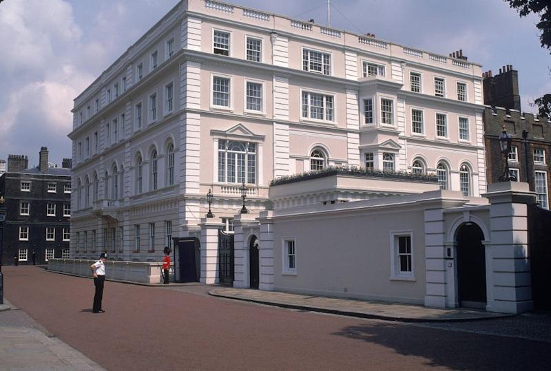 It might look palatial, but there's a storage crisis at Clarence House. Photo: Getty