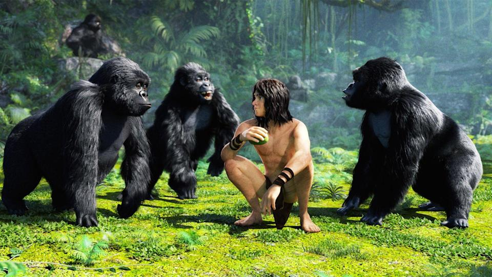 "<p><b>Tubi's Description:</b> ""Tarzan must protect the jungle, and his beloved Jane, from a greedy businessmen who wants to destroy his natural habitat for profit.""</p> <p><a href=""https://tubitv.com/movies/447845/tarzan"" class=""link rapid-noclick-resp"" rel=""nofollow noopener"" target=""_blank"" data-ylk=""slk:Watch Tarzan on Tubi now!"">Watch <b>Tarzan</b> on Tubi now!</a></p>"
